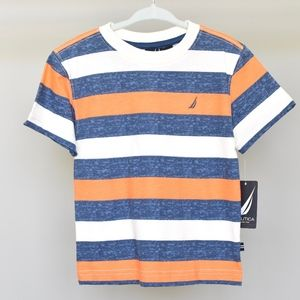 NWT, Nautica striped toddler t-shirt, 2T size
